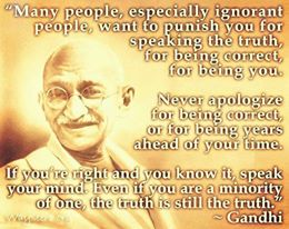 Gandhi and Truth