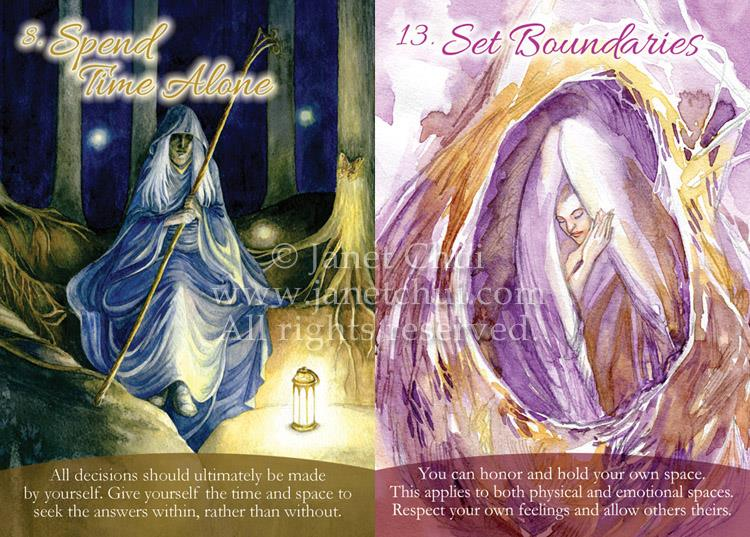 Self-Love Oracle cards drawn for April 11, 2016