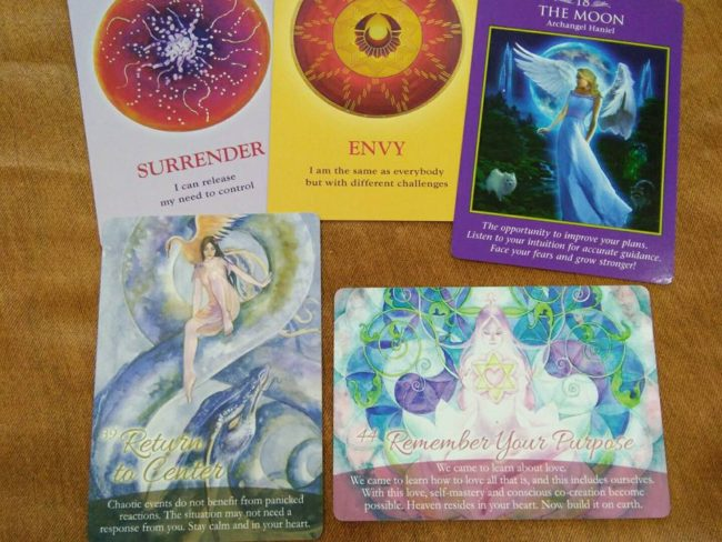 Self-Love Oracle cards for November 2016
