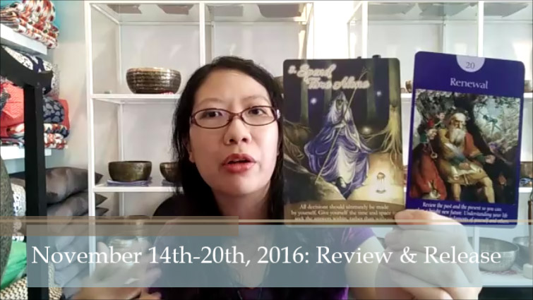 The Self-Love Oracle Forecast – November 14th-20th, 2016: Review & Release