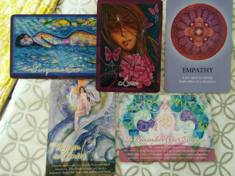 The Self-Love Oracle Forecast: December 12th-18th, 2016: Swimming in It