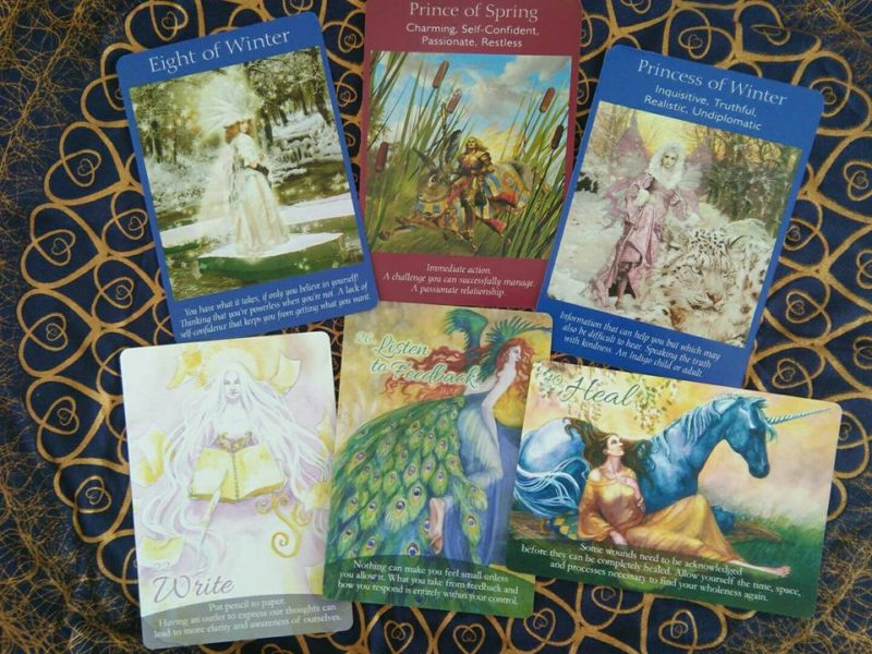 The Self-Love Oracle Forecast: December 19th-25th, 2016: Review & Heal